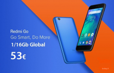 Angebot - Xiaomi Redmi Go Global 1 / 16Gb zu 53 €