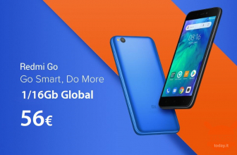 Rabattcode - Xiaomi Redmi Go Global 1 / 16Gb bei 56 €