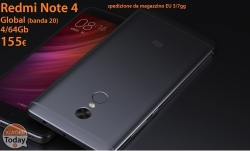 Discount Code - Redmi Notes 4 Global Gray 4 / 64Gb to 155 € shipping from stock EU