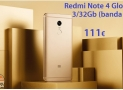 Codice Sconto – Redmi Note 4 Global 3/32Gb a 111€