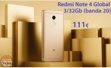 קוד הנחה - Redmi Note 4 Global 3 / 32Gb ב 111 €