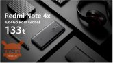 Code de réduction - Notes Redmi 4x 4 / 64Go Global Global Noir à 133 € Années de garantie 2 Europe