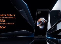 Discount Code - Xiaomi Redmi Note 5 4 / 64Gb to 165 € and 3 / 32Gb to 133 € (valid only for today)