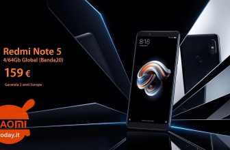 Offer - Xiaomi Redmi Notes 5 Global 4 / 64Gb to 159 € 2 years European warranty and FREE priority shipping
