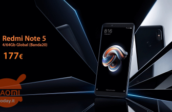 Kod rabatowy - Xiaomi Redmi Notes 5 4 / 64Gb global (zespół 20) 4 / 64Gb w 177 €