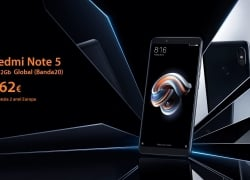 Offer - Xiaomi Redmi Note 5 4 / 64Gb Global (20 band) to 196 € and 3 / 32Gb to 162 only € 2 Warranty Years Europe