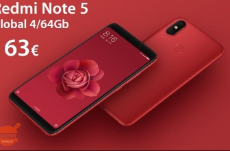Discount Code - Xiaomi Redmi Note 5 Red / Black / Blue / Gold 4 / 64Gb to 163 € Italy Express included