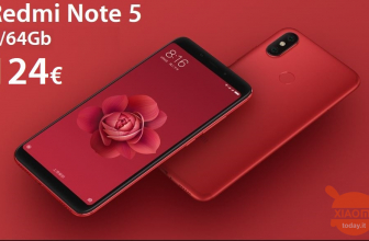 Offerta – Xiaomi Redmi Note 5 4/64Gb rom global (no banda 20) a 124€ e la versione global (banda 20) 4/64Gb a 175€