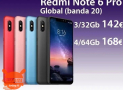 Offer - Redmi Notes 6 Pro Global 4 / 64Gb to 168 € and 3 / 32Gb to 142 € 2 guarantee years Europe and Italy Express FREE