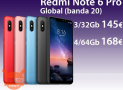 Discount Code - Redmi Notes 6 Pro Global 4 / 64Gb to 168 € and 3 / 32Gb to 145 €