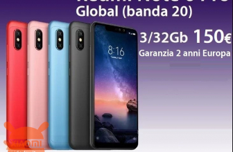 Offer - Redmi Notes 6 Pro Global 3 / 32Gb to 150 € 2 warranty years Europe and priority delivery Included