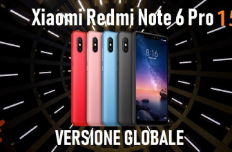 Offre - Redmi Notes 6 Pro Global 3 / 32Gb à 153 € et 4 / 64Gb à 191 €
