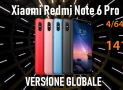 Код скидки - Redmi Notes 6 Pro Global 4 / 64Gb в 141 €