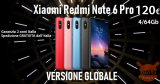 Discount Code - Redmi Note 6 Pro Global 4 / 64Gb to 120 € warranty 2 year Italy sent free from IT warehouse