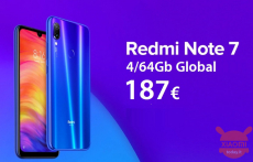 Код скидки - (xiaomi) Redmi Notes 7 Глобальный 4 / 64Gb в 187 €