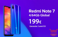 Discount Code - (xiaomi) Redmi Note 7 Blue Global 4 / 64Gb at 199 € Europe 2 warranty and priority shipping Included!
