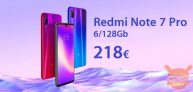 Code de réduction - Xiaomi Redmi Notes 7 Pro 6 / 128Gb chez 218 €