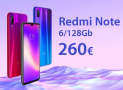 Oferta - Xiaomi Redmi Notas 7 Pro 6 / 128Gb a 260 € Todas as cores