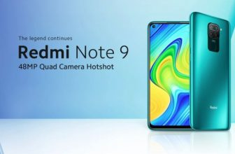 The Redmi Note 9 Global NFC 4 / 128Gb on offer at 140 € is to buy!