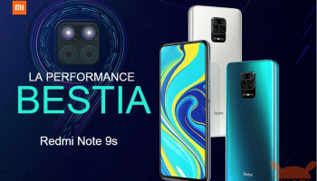 Redmi Note 9S Global 6 / 64Gbは152€、6 / 128Gbバージョンは160€