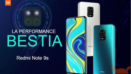 Código de desconto - Redmi Note 9S Global 6 / 128Gb a 188 € da China e 211 € da Amazon Prime