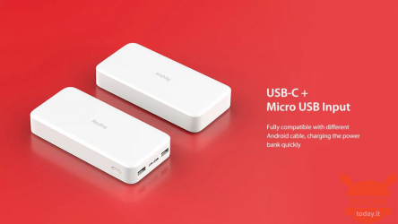 Oferta - Redmi Power Bank 10.000 mAh za 16 €