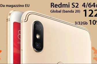 Discount Code - Xiaomi Redmi S2 Global (20 band) 3 / 32Gb at 109 € and 4 / 64Gb at 122 € from EU warehouse