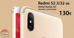 Discount Code - Xiaomi Redmi S2 Global (20 band) 3 / 32Gb to 130 € and 4 / 64Gb to 165 € 2 guarantee years Europe