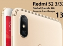 Discount Code - Xiaomi Redmi S2 Global (20 band) 3 / 32Gb Gray to 133 € Warranty 2 Years Europe