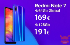 Discount Code - (xiaomi) Redmi Notes 7 Global 4 / 64Gb at 169 € and 4 / 128Gb at 191 €