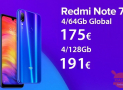 Codice Sconto – (xiaomi) Redmi Note 7 Global  4/64Gb a 175€ e 4/128Gb a 191€