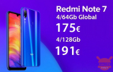 Discount Code - (xiaomi) Redmi Notes 7 Global 4 / 64Gb at 175 € and 4 / 128Gb at 191 €