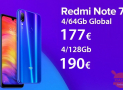 Codice Sconto – (xiaomi) Redmi Note 7 Global  4/64Gb a 177€ e 4/128Gb a 190€
