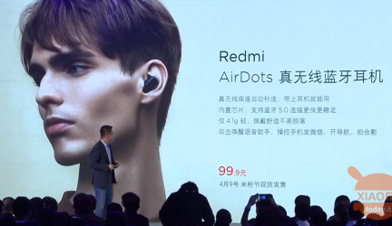 Xiaomi Redmi AirDots and A1 Washing Machine presented, starting from 13 euro