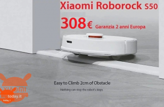 Discount Code - Roborock S50 Smart Robot floor washes in 308 € Warranty 2 Years Europe