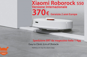 Discount Code - Roborock S50 Smart Robot International floor washes at 370 € Warranty 2 Years Europe Shipped from stock