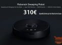 Discount Code - Roborock S50 International Smart Robot washes floor at 322 € and S55 at 310 €