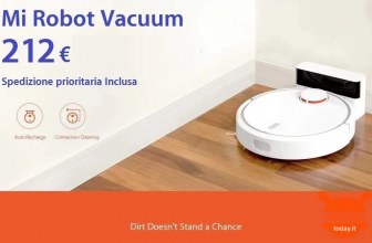 Discount Code - Mi Robot Vacuum only 212 € priority shipping Included