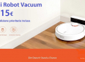 Discount Code - Mi Robot Vacuum for only 215 € FREE priority shipping