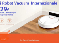 Offer - Mi Robot Vacuum International for only 229 € with 2 warranty for Europe and Italy Express INCLUDED