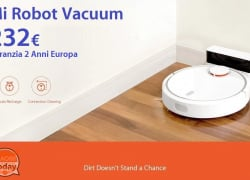 Offer - Mi Robot Vacuum only 232 € with warranty 2 years Europe