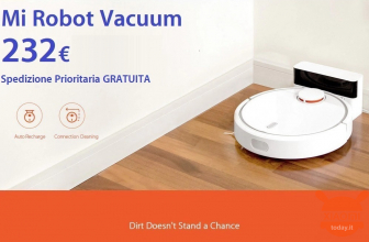 Discount Code - Mi Robot Vacuum for only 232 € FREE priority shipping