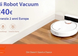Offer - Mi Robot Vacuum for only 240 € with 2 years European warranty