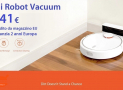 Discount Code - Mi Robot Vacuum only 241 € with warranty 2 years Europe and shipped from EU warehouse