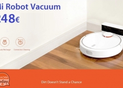 Discount Code - Mi Robot Vacuum only 248 € with shipping included Express Italy