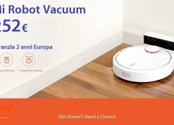 Offer - Mi Robot Vacuum only 252 € with 2 years European warranty with Priority Line included