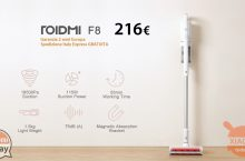 Offer - Xiaomi ROIDMI F8 Powerful wireless vacuum cleaner at 216 € warranty 2 Europe years FREE priority shipping