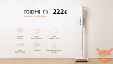 Discount Code - Xiaomi ROIDMI F8 Powerful 222 € cordless vacuum cleaner