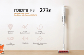 Discount Code - Xiaomi ROIDMI F8 Vacuum Cleaner to 273 € 2 Warranty years Europe