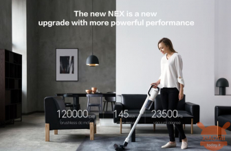 Discount Code - XIAOMI ROIDMI NEX Electric Broom Lava Floors Wireless at 323 € priority shipping included